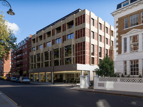 Old Brompton Road, West View